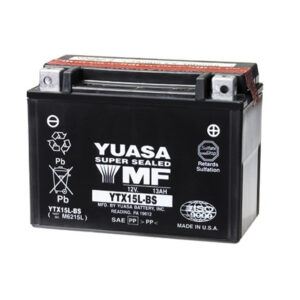 Yuasa ytx15l-bs-batteries